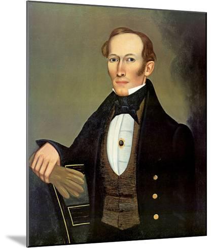 Mr. Pearce, c.1835-Erastus Salisbury Field-Mounted Art Print
