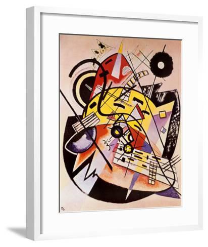 White Dot-Wassily Kandinsky-Framed Art Print