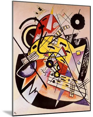 White Dot-Wassily Kandinsky-Mounted Art Print