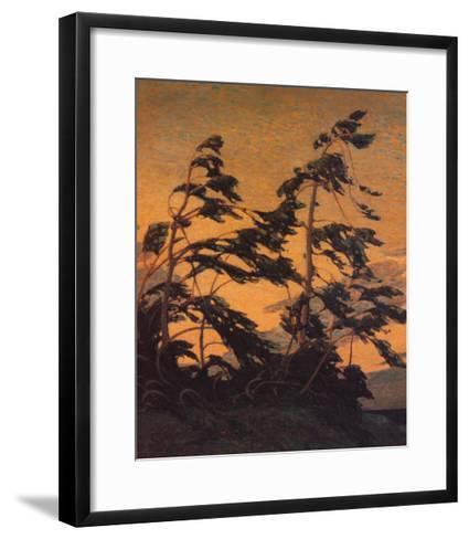 Pine Island, Georgian Bay-Tom Thomson-Framed Art Print