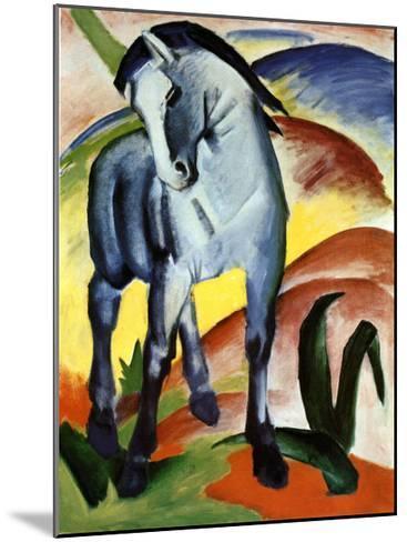 Blue Horse I-Franz Marc-Mounted Art Print