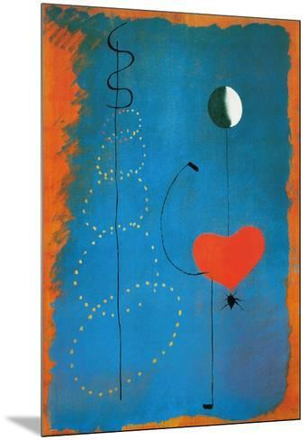 Ballerina-Joan Mir?-Mounted Art Print