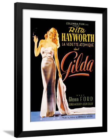 Gilda--Framed Art Print