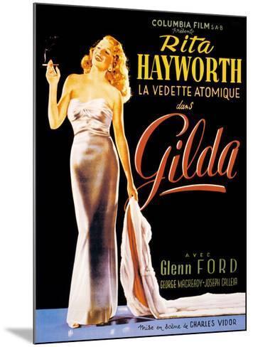 Gilda--Mounted Art Print