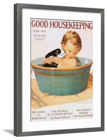 Good Housekeeping--Framed Art Print