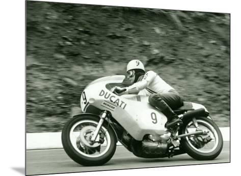 Crossing the Ohio River-Danny Lyon-Mounted Art Print