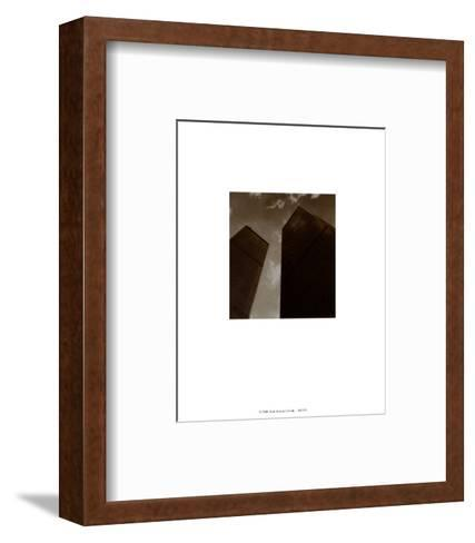 Twin Towers-Walter Gritsik-Framed Art Print