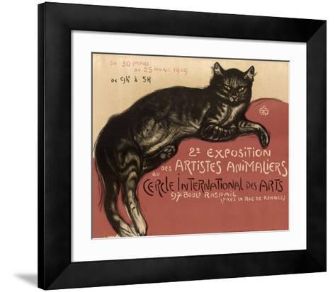Cat-Th?ophile Alexandre Steinlen-Framed Art Print