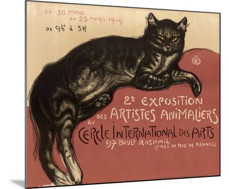 Cat-Th?ophile Alexandre Steinlen-Mounted Art Print