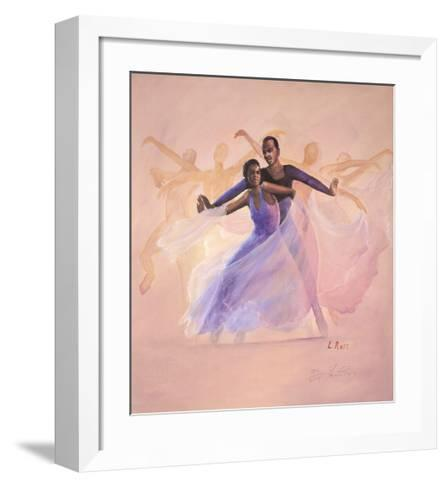Morning Glory-Laverne Ross-Framed Art Print