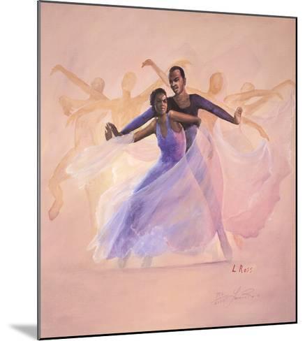 Morning Glory-Laverne Ross-Mounted Art Print