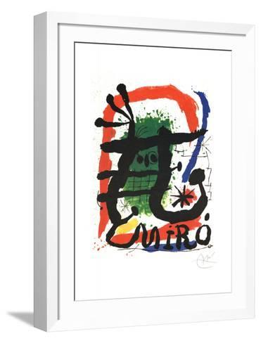 XXE-Joan Mir?-Framed Art Print