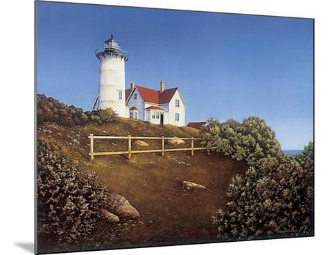 Wood's Hole Lighthouse-Daniel Pollera-Mounted Art Print