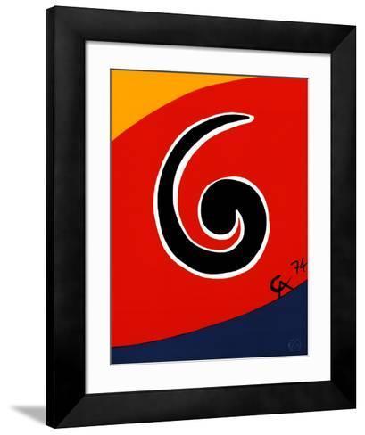 Sky Swirl-Alexander Calder-Framed Art Print