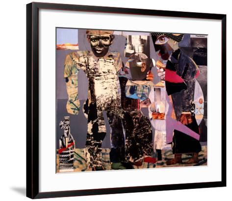 Return of the Prodigal Son-Romare Bearden-Framed Art Print