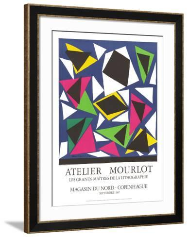 L'Escargot-Henri Matisse-Framed Art Print