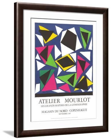 L'Escargot-Henri Matisse-Framed Art Print