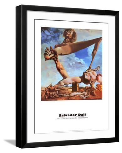 Soft Construction with Boiled Beans-Salvador Dal?-Framed Art Print