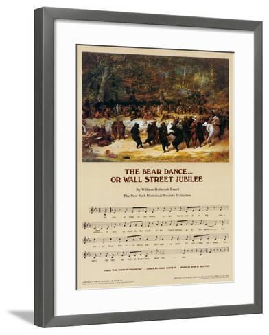 Wall Street Jubilee-William Holbrook Beard-Framed Art Print