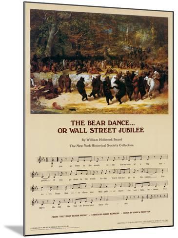 Wall Street Jubilee-William Holbrook Beard-Mounted Art Print