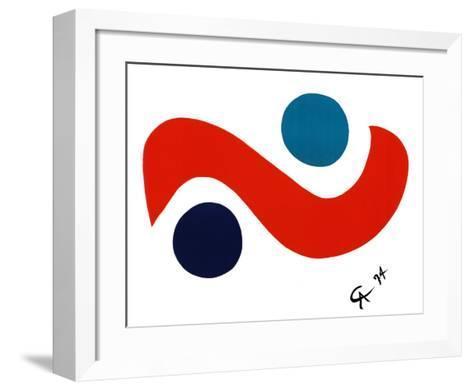Skybird-Alexander Calder-Framed Art Print