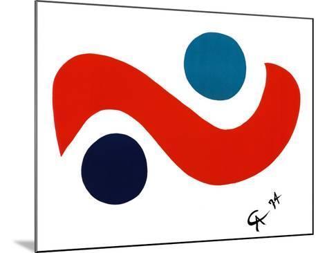 Skybird-Alexander Calder-Mounted Art Print
