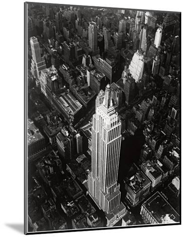 Empire State Building, 1935--Mounted Art Print