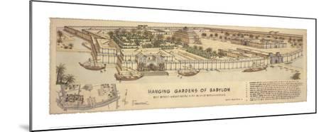 Hanging Gardens of Babylon-Roger Vilar-Mounted Art Print