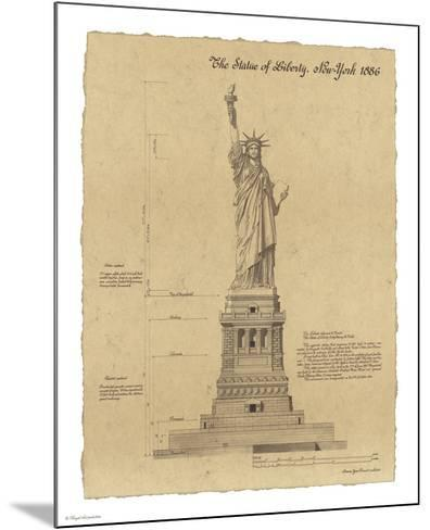 Statue of Liberty New York-Yves Poinsot-Mounted Art Print