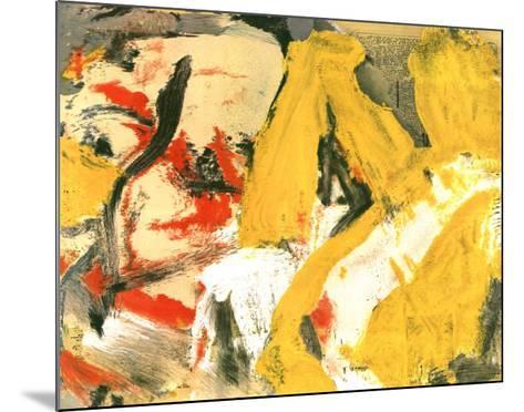 In the Sky-Willem de Kooning-Mounted Art Print