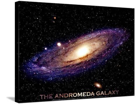 Andromeda Galaxy Print--Stretched Canvas Print
