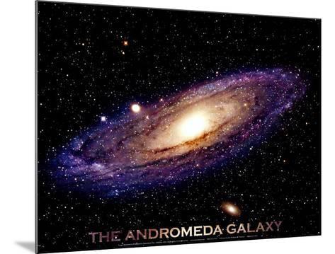 Andromeda Galaxy Print--Mounted Art Print