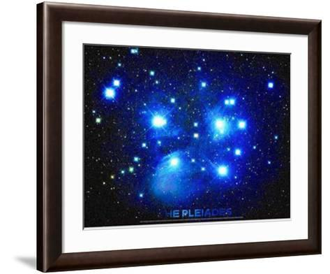 Pleiades--Framed Art Print