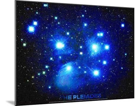 Pleiades--Mounted Art Print