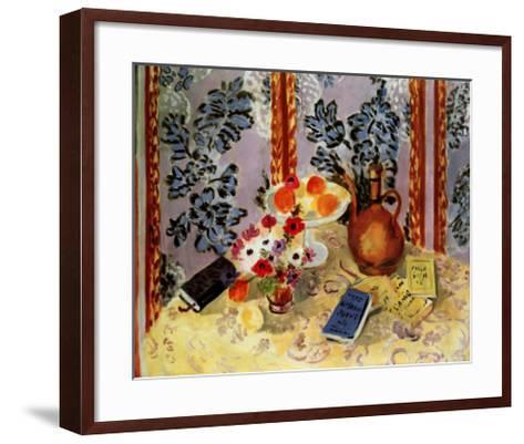 Still Life, Histoire Juives-Henri Matisse-Framed Art Print