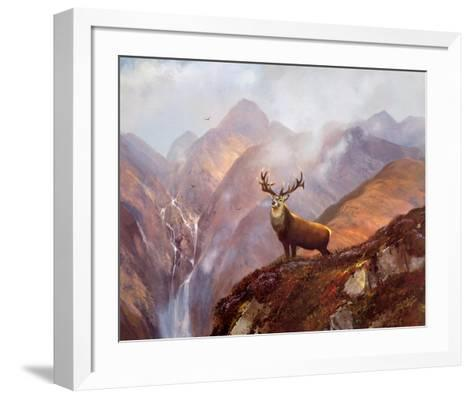 The Highlands-Michael Coleman-Framed Art Print