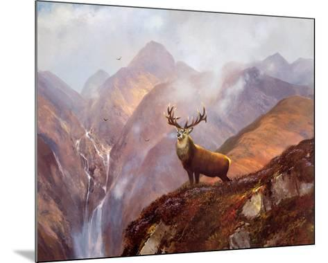 The Highlands-Michael Coleman-Mounted Art Print