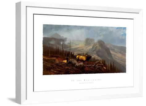 In the Beartooths-Michael Coleman-Framed Art Print