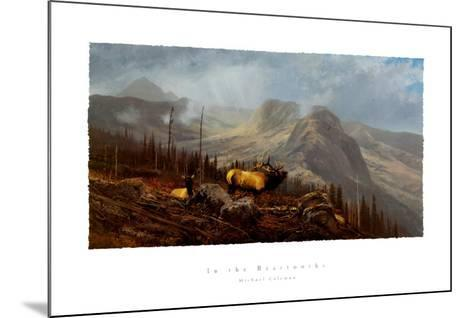 In the Beartooths-Michael Coleman-Mounted Art Print