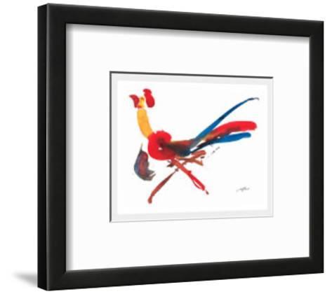 Red Rooster-Wilhelm Gorre-Framed Art Print