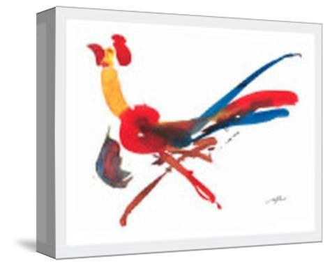 Red Rooster-Wilhelm Gorre-Stretched Canvas Print