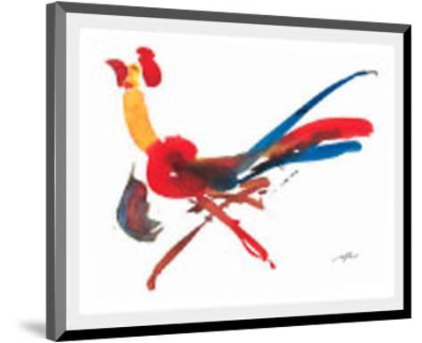 Red Rooster-Wilhelm Gorre-Mounted Art Print