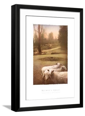 Ruthie's Sheep-Barbara Kalhor-Framed Art Print