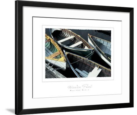Wooden Fleet-Heather Niblo-Framed Art Print