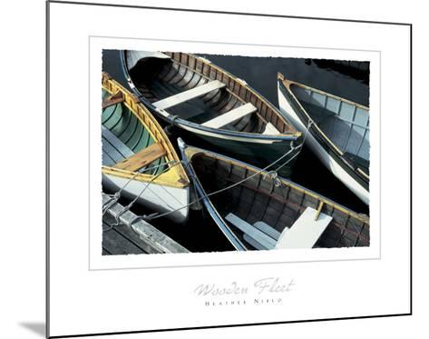 Wooden Fleet-Heather Niblo-Mounted Art Print