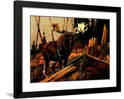 Big Bruiser-Luke Frazier-Framed Art Print