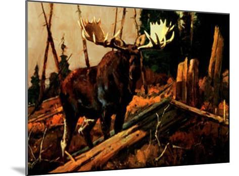 Big Bruiser-Luke Frazier-Mounted Art Print