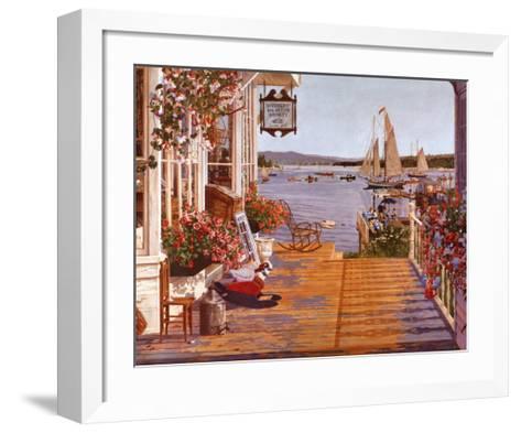 Mariner's Cove-John Atwater-Framed Art Print