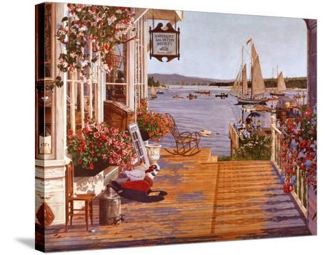 Mariner's Cove-John Atwater-Stretched Canvas Print