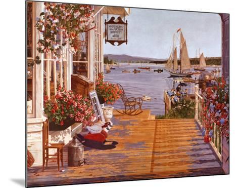 Mariner's Cove-John Atwater-Mounted Art Print